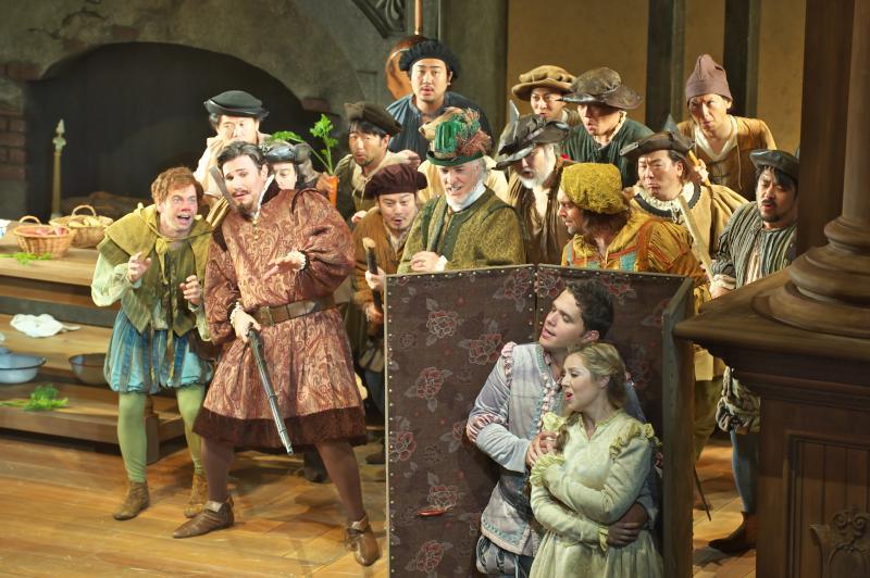 オペラ「ファルスタッフ」の公演から、名場面集をお届け致します