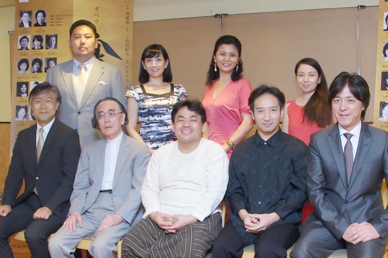 神奈川県民ホール開館40周年記念 オペラ《金閣寺》制作発表会レポート © Naoko Nagasawa