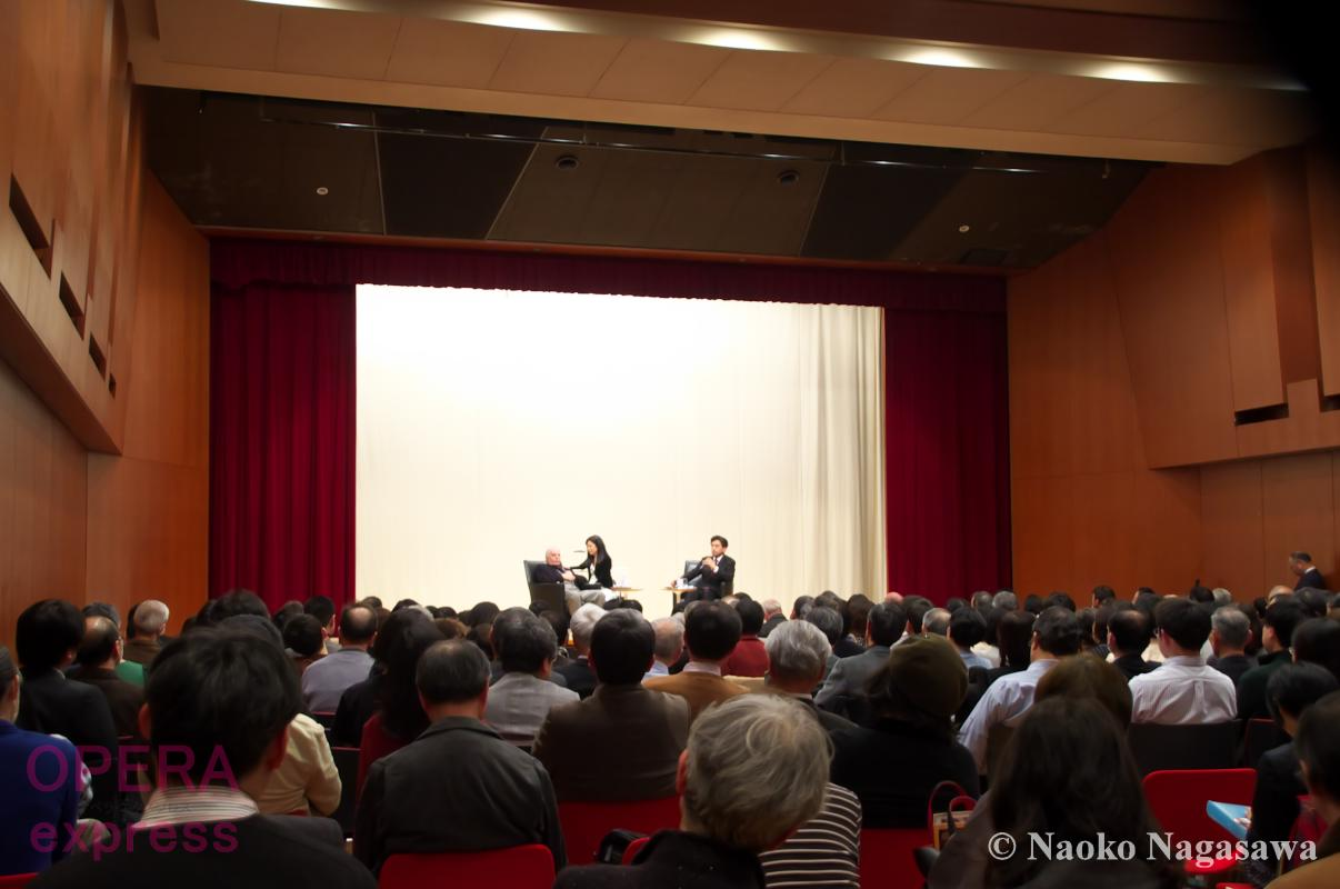 自分の時間をどれだけワーグナーと過ごしたかは分かりません・・・ワーグナーだけに献身的な愛を注ぐのは何故なのでしょう?—日本ワーグナー協会 特別例会「ダニエル・バレンボイム氏を迎えて」