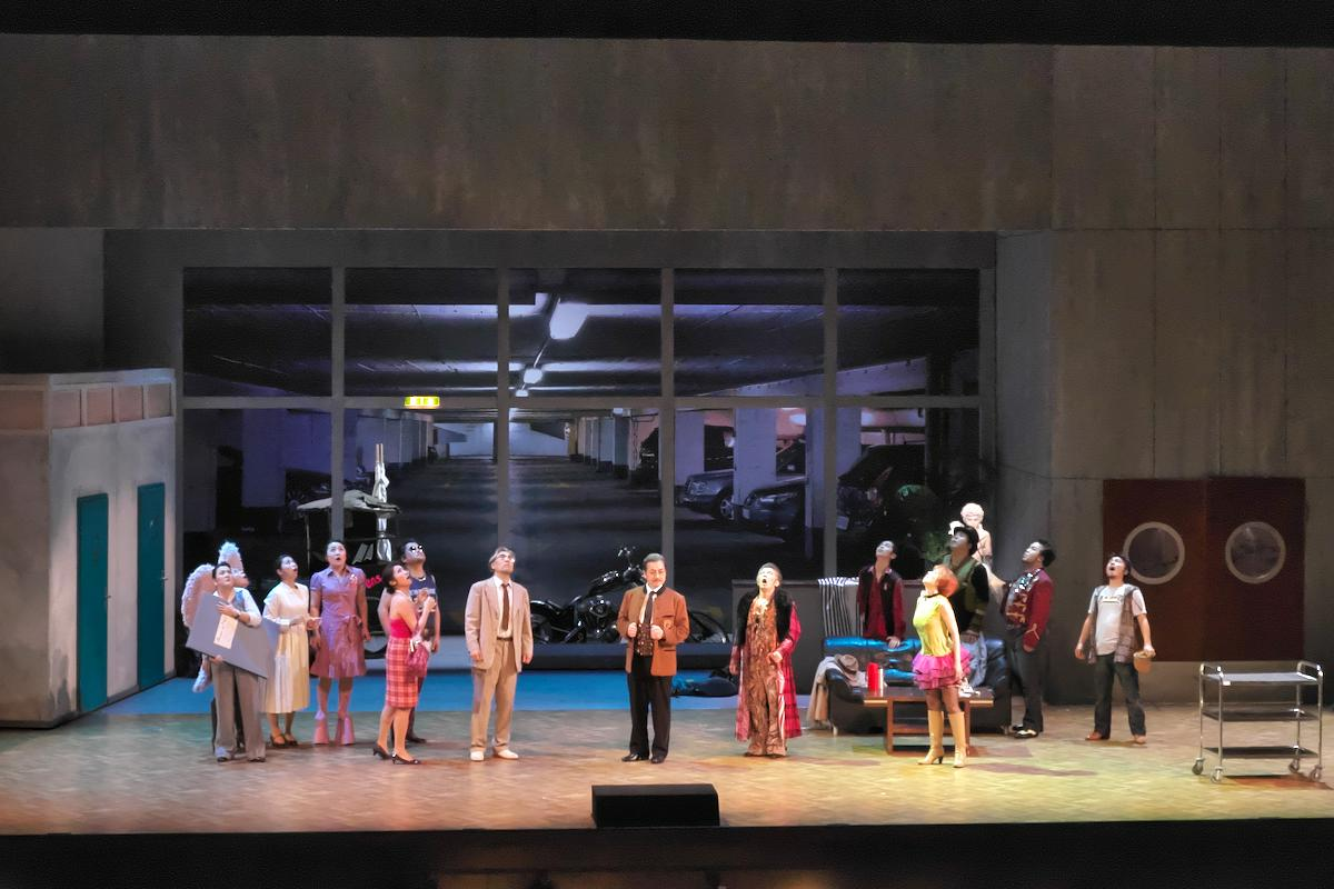 東京二期会オペラ劇場《ナクソス島のアリアドネ》より